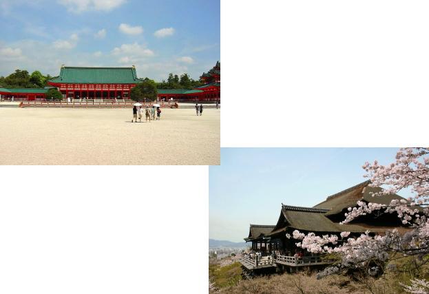 平安神宮から清水寺