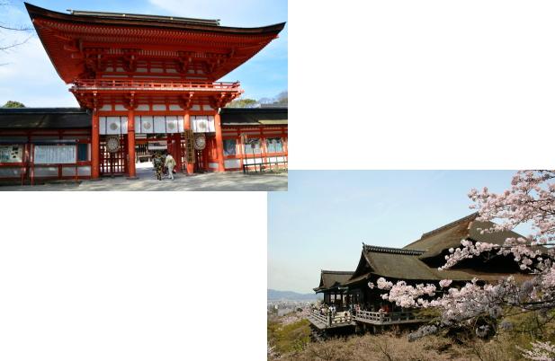 下鴨神社から清水寺