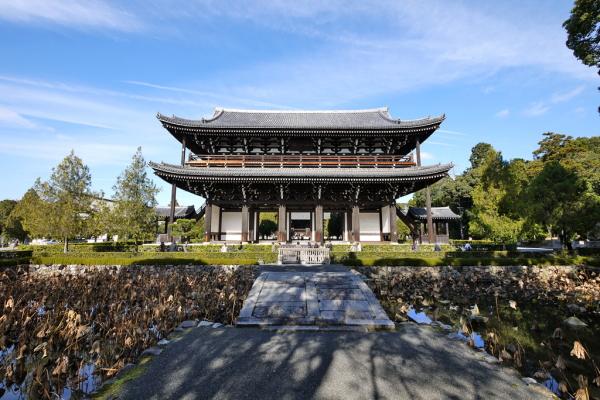 清水寺から東福寺