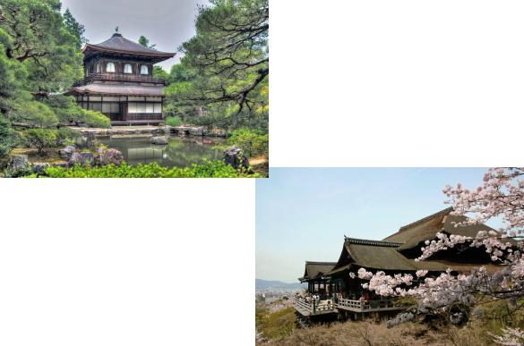 銀閣寺から清水寺