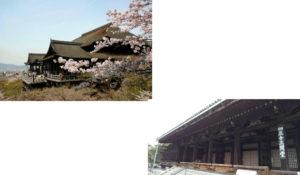 清水寺から三十三間堂