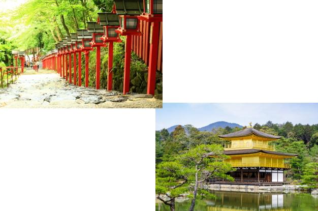 貴船神社から金閣寺