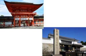 下鴨神社から二条城
