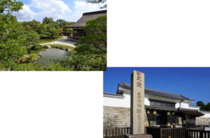 仁和寺から二条城