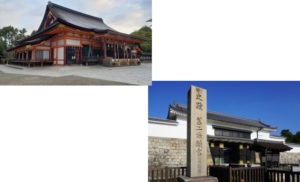 八坂神社から二条城